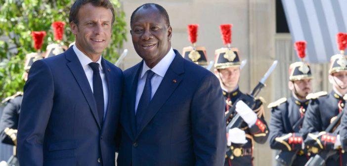 Ouattara à Macron : «Je n'ai pas instructions à recevoir d'un jeune homme qui n'a pas l'âge de mon premier fils» [Par Chris Yapi]